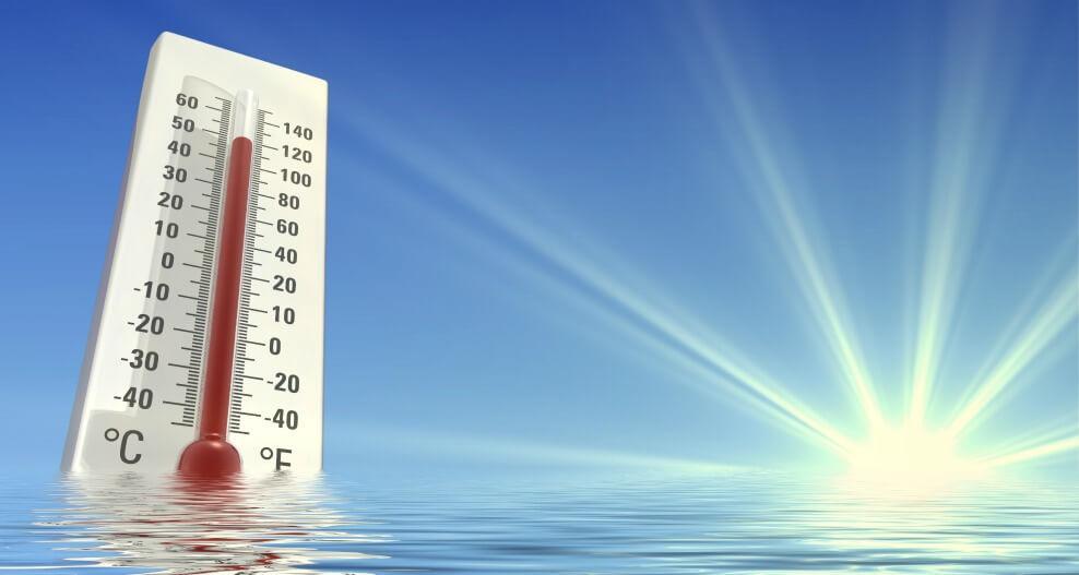 High-summer-temperatures
