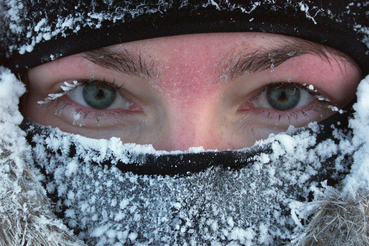 Občutek polarnega zraka bo pri močnih severnih vetrovih segal tudi do -30 °C!