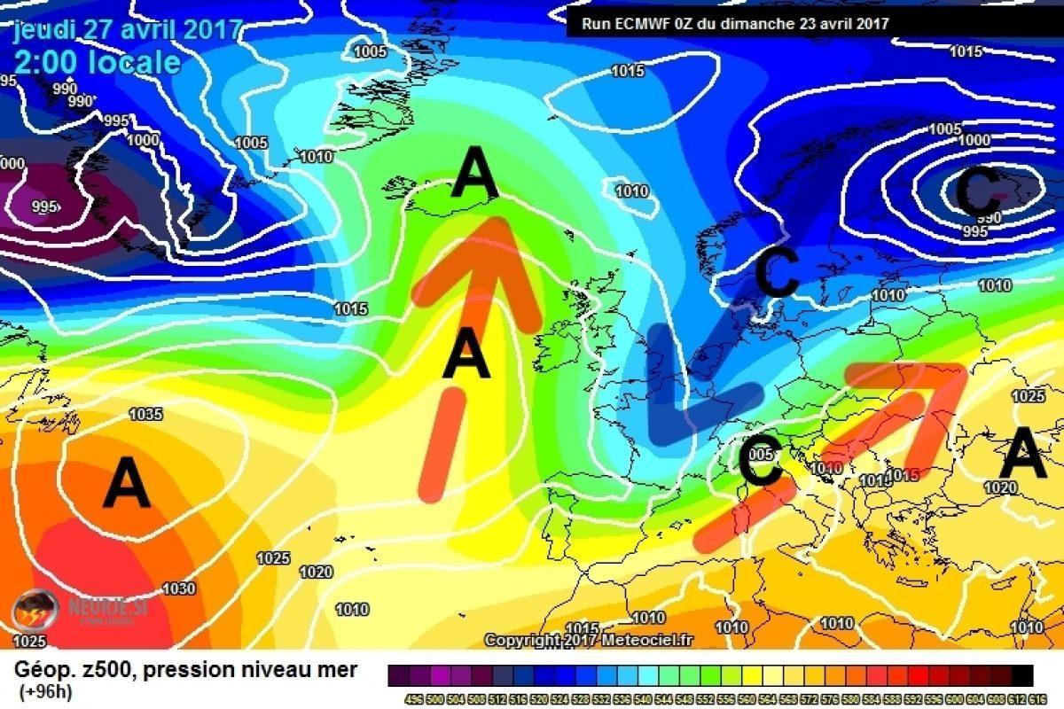 Evropo bo naslednji teden preplavila nova dolina hladnega zraka