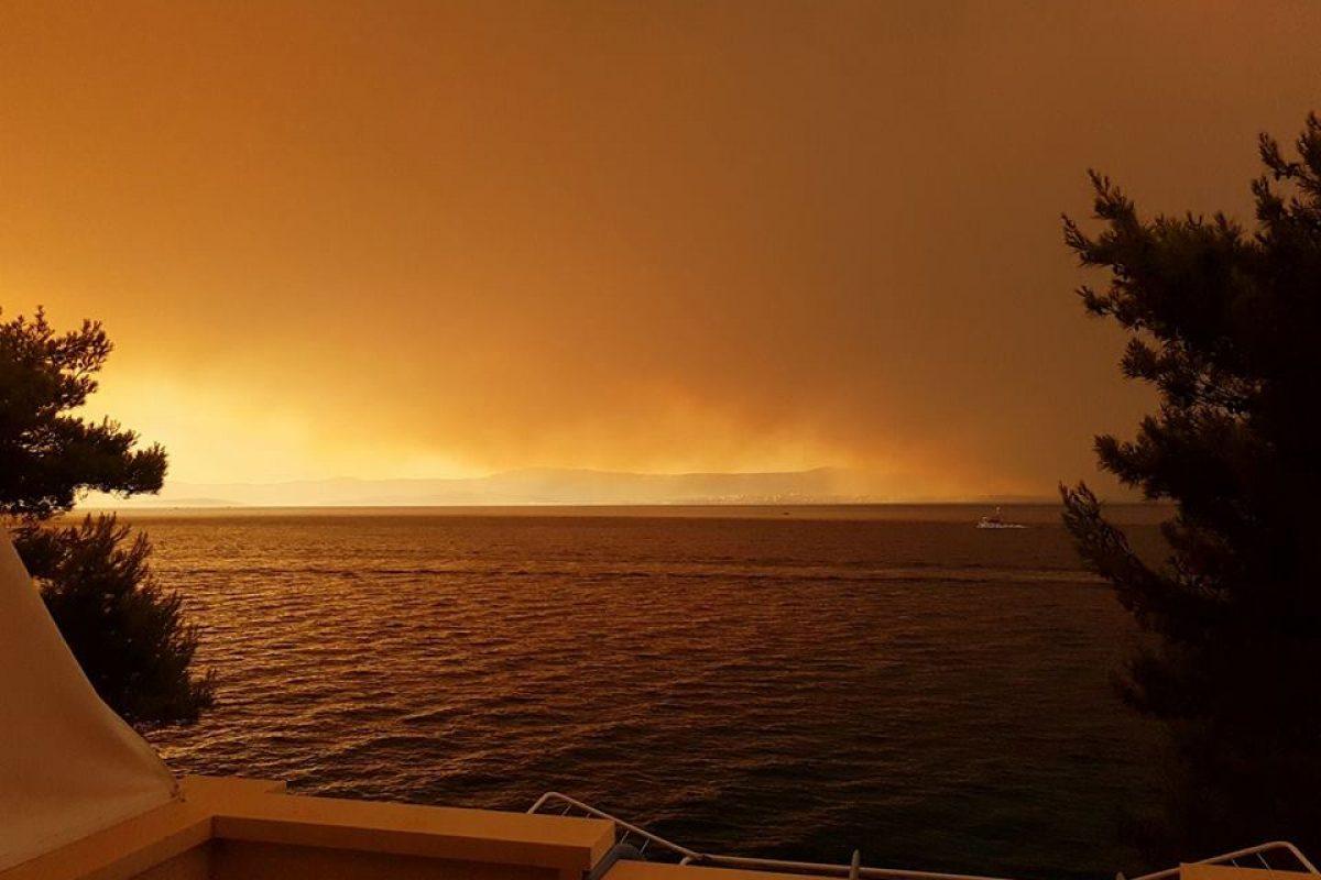 Na Hrvaškem divjajo požari, najhuje na območju Splita