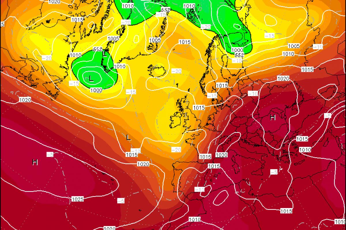 Prihaja nov vročinski val, temperature se bodo ponekod dvignile do 40 °C!