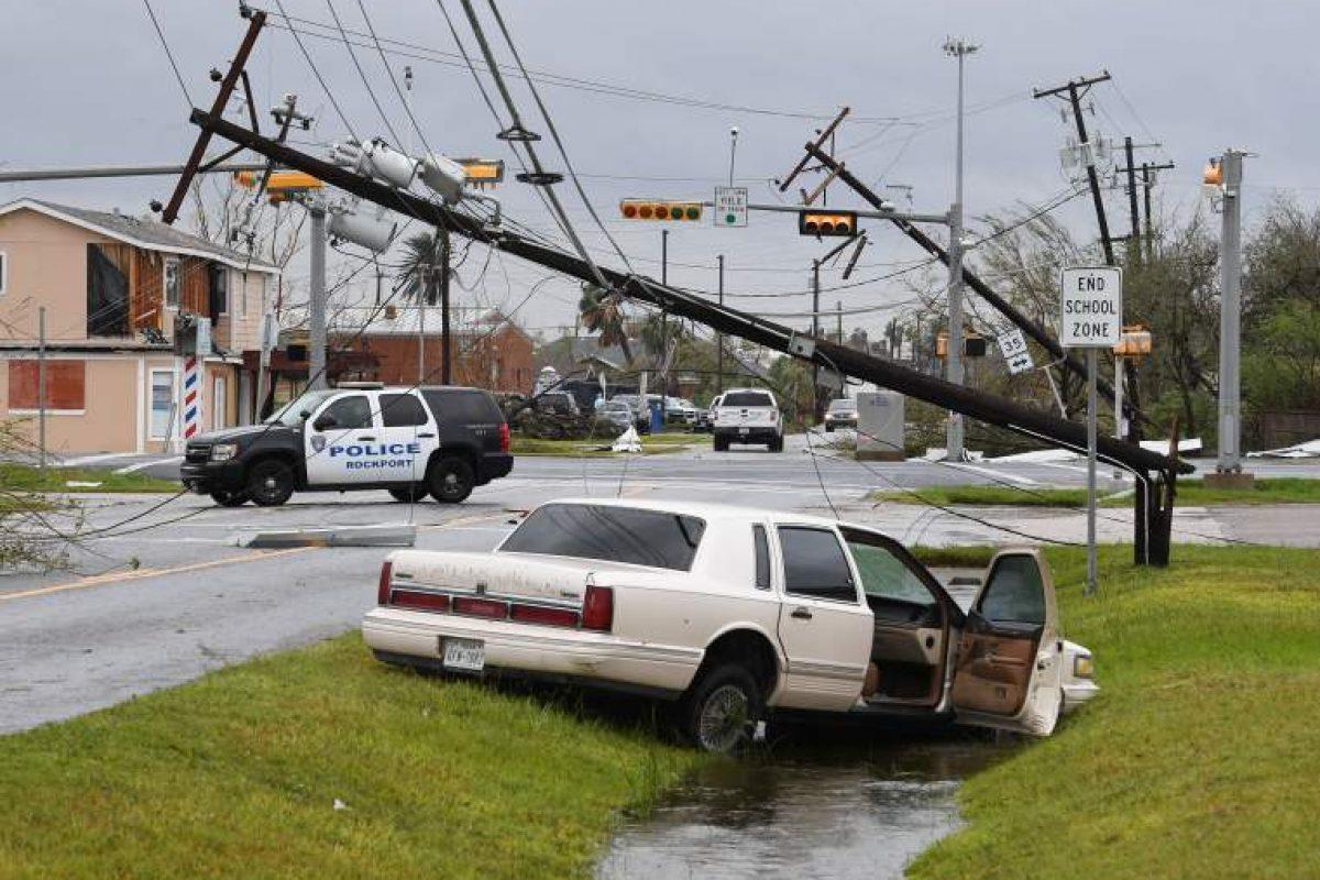 FOTO in VIDEO: Katastrofalne posledice orkana Harvey (Teksas, ZDA)