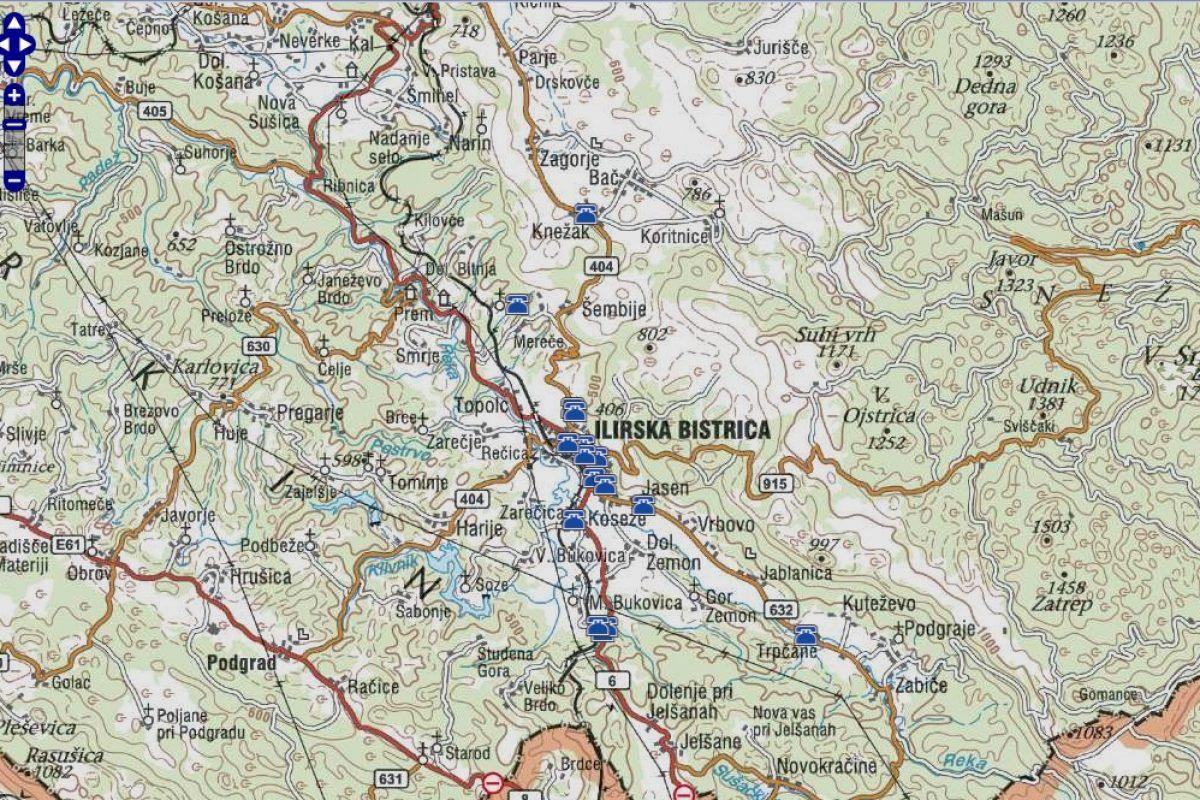 Poplavljanje vodotokov na območju Ilirske Bistrice
