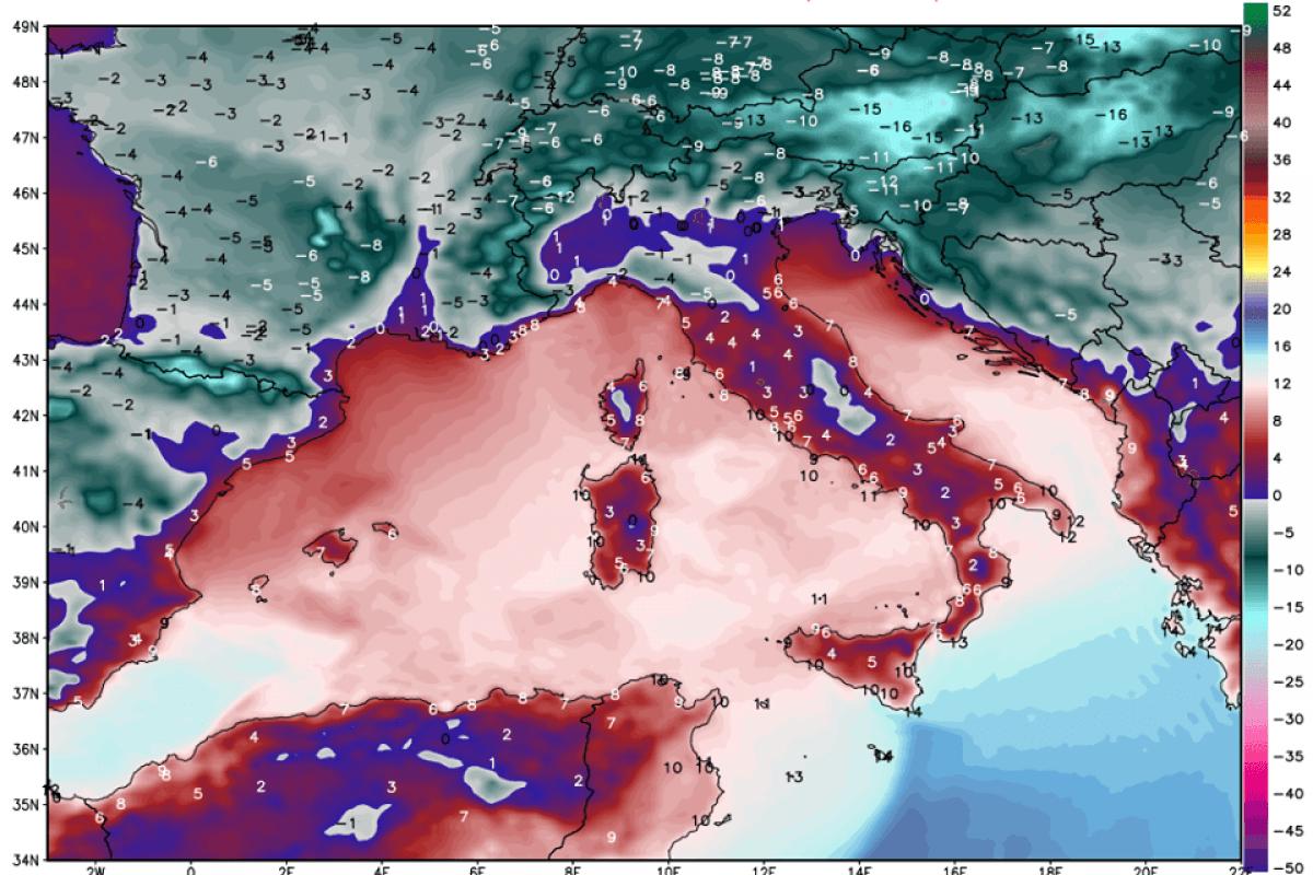 POVRATEK V ZIMO: Čakajo nas za marec izjemno nizke temperature, še prej pa sneg